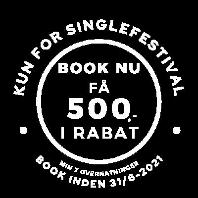 Book nu spar 500,- singlefestival